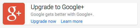"""Google gets better with Google+,"" they claim. No. No, it doesn't, Google."